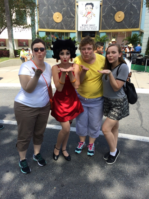 The Girls with Betty Boop
