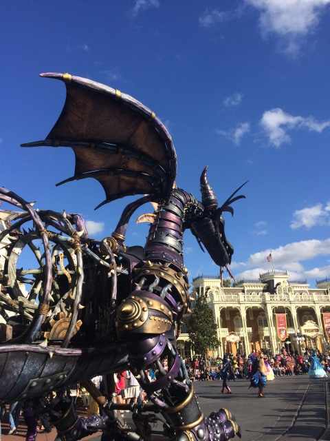 Iron Dragon in a Disney Parade